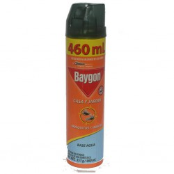 Baygon casa y jardín aerosol 400 ml