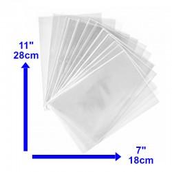 Bolsa Transparente 7x11 de 1 k