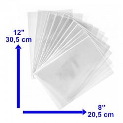 Bolsa Transparente 8x12 de 2k