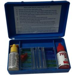 Kit de medida Ph y cloro para piscina