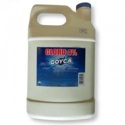 Cloro Goyca 4% Galon