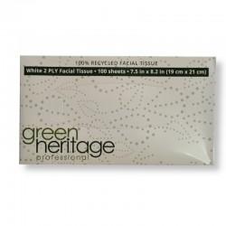 Green Heritage Pañuelos Caja 100 U