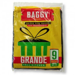 Bolsa  Baggy Grande Paq 9 Bolsas