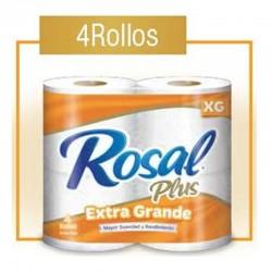 Pap. Higien. Rosal Naranja Doble Hojas x 4 Rollos