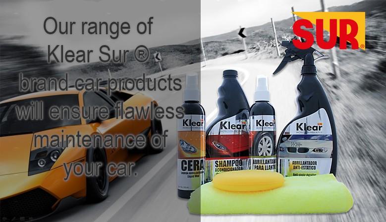 Klear Sur car products